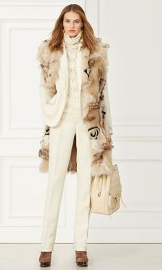 Lenorah Shearling Coat - Collection Apparel Jackets & Coats - Ralph Lauren France