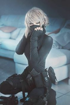 black ops girl reference image Cosplay: It's really a word that's it's root in costume play. Moda Cyberpunk, Cyberpunk Girl, Cyberpunk Fashion, Cyberpunk Tattoo, Black Ops, Character Inspiration, Character Design, Character Concept, Concept Art