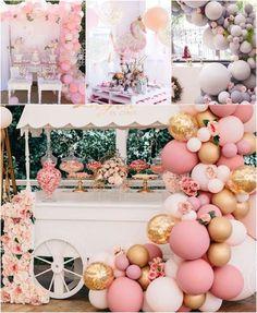 Un tas d'idées de décoration ballon anniversaire pour la party inoubliable et très chic de votre fillette!
