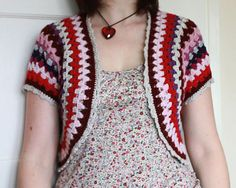 Ravelry: Grannie Shrug pattern by Sandra Paul