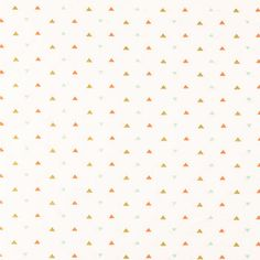 Coral, Gold & Mint Mini Triangle Apparel Fabric | Hobby Lobby