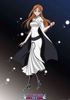 Anine Bleach Orihime Inoue Arrancar Cosplay Costume Complete set COS