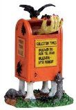 Spooky Town Scary Mailbox Halloween Village Figurine