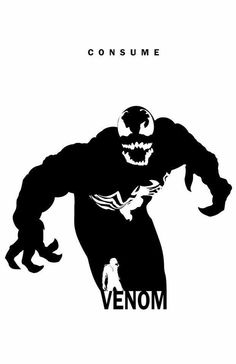 Venom: Consume by Steve Garcia (Marvel) Hq Marvel, Marvel Venom, Marvel Villains, Marvel Dc Comics, Marvel Heroes, Venom Spiderman, Comic Book Characters, Comic Book Heroes, Marvel Characters