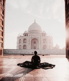 travel, photography, and taj mahal image