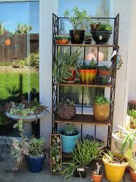 use for old wire bakers rack -