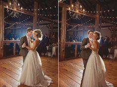 Julie + Shane - vintage, barn, chandeliers, rustic wedding venue in pennsylvania - Lauren Fair Photography