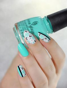 Imagen de nails, nail art, and nail polish