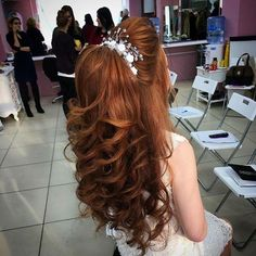 Pin by jeannette marshall on Hair and make up in 2019 - Hair Styles 2019 Quince Hairstyles, Best Wedding Hairstyles, Bride Hairstyles, Pretty Hairstyles, Short Hairstyles, Wedding Hair And Makeup, Bridal Hair, Hair Makeup, Peinado Updo
