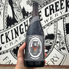 The Virginia Black Bear (Gold Medal Winner - Russian Imperial Stout - 2015 Virginia Craft Brewer's Fest) will be released this Saturday October 31st at the Farm. This is the base beer for the Enlightened Despot. Beware the Bear. #LCCB #VAbeer by lccb_farmbrews