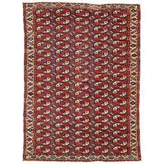 Chodor Main Carpet Turkmenistan Mid 19th Century 8ft 10in X 6ft 6in