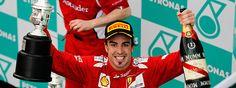 Alonso, lección y victoria en Sepang