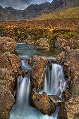 Fairy Pools, Coire na Creiche, Cuillins, Isle of Skye. Photo by Karl  Williams