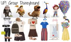 UP! Group Disneybound Outfit | ShopLook
