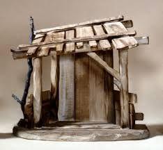 nativity stable - Google zoeken Christmas Craft Projects, Diy Christmas Tree, Christmas Nativity, Fun Projects, Christmas Decorations, Christmas Ornaments, Nativity Stable, Owl Wreaths, Material Flowers