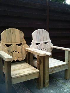 Stormtrooper pallet chair