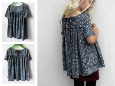 voila blouse by cali faye :: by groovy baby and mamma