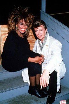 Tina Turner & David Bowie.
