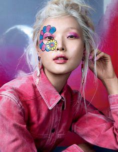 Cartoon Girl Magazine | Vogue China February 2016 Model | Sung Hee Kim Photographer | David Slijper