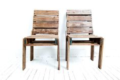 Vintage Pallet Chairs