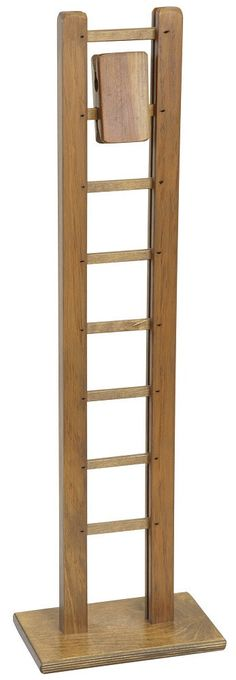 MONKEY LADDER Handmade Wood Block Walker Gravity Toy Amish Handcrafted Hardwood USA