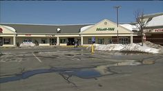 A roof collapse in Holden, Massachusetts, lead to the evacuation of a shopping plaza on Monday.