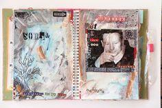 Maria Schmidt Scrap-Art-Design Schmidt, Art Journaling, Scrap, My Arts, Design, Art Diary, Tat, Gcse Art