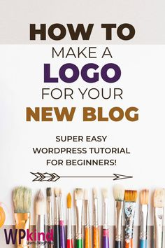 How to make a logo for your WordPress blog. Are you ready to start a blog? Then you will need a logo! Here is my tutorial on how to make a logo for your WordPress blog. Includes design tips and recommendations on sites that can help you to make the best logo. How to upload a logo to your header and tweak it with CSS code. #wordpress #wordpresslogo #wordpressdesign #wordpressblog #wordpresstutorials #wordpresstips #bloggingtips