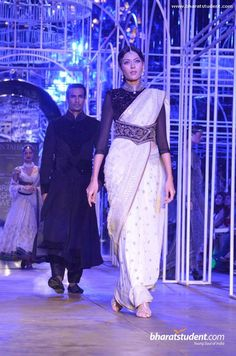 Shriya Kishore for Tarun Tahiliani at the Aamby Valley India Bridal Fashion Week, 2013 https://www.facebook.com/TarunTahiliani