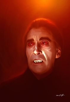 CHRISTOPHER LEE DRACULA by willman1701 on deviantART