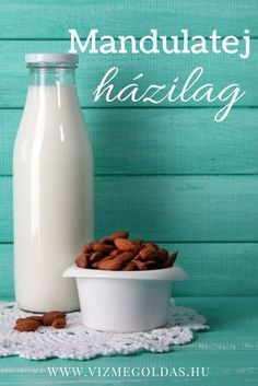 Egészséges receptek - Mandulatej Vegan Recipes, Cooking Recipes, Vegan Food, Health 2020, Cold Drinks, Cereal, Food And Drink, Breakfast, Foods