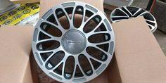 Cerchi In Lega Fiat 500 New Abarth 15 Nuovi 385 Fiat 500, Car, Wheels, Automobile, Autos, Cars