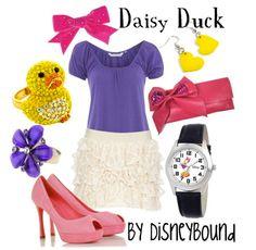 Daisy Duck by disneybound