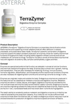mydōpro | Library | TerraZyme Product Information Page