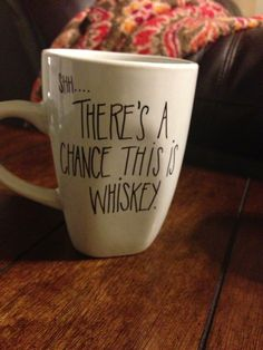 There's a chance this is whiskey... #whiskey #bourbon