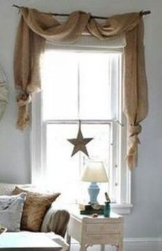 ✯ Wish Upon the Stars ✯ star in the window | Town & Country Living