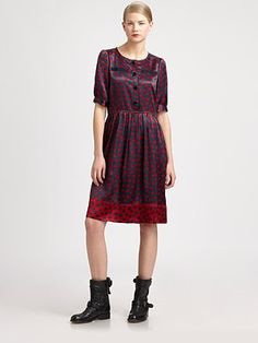 Marc by Marc Jacobs Odessa Printed Dress