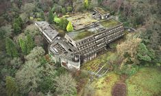 Brutalism and Culture: How St Peter's Seminary is Already Shining in its Second Life, Built in St. Peter's Seminary is hidden away in a forest 20 miles outside Glasgow. Image Courtesy of Courtesy Tom Kidd / Almay via Metropolis Magazine Old Buildings, Abandoned Buildings, Abandoned Places, Abandoned Castles, Metropolis Magazine, Visual And Performing Arts, Interactive Installation, Roman Catholic, Ruins