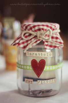 DIY per San Valentino || Il barattolo dei ricordi | Alixia - le chat gourmand