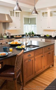 1000+ images about Two-Tone Kitchens on Pinterest ...