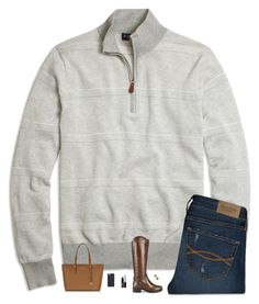 """""""TGIF"""" by classynsouthern ❤ liked on Polyvore featuring Brooks Brothers, Ravel, Kendra Scott, NARS Cosmetics, Tory Burch, Michael Kors and Abercrombie & Fitch"""