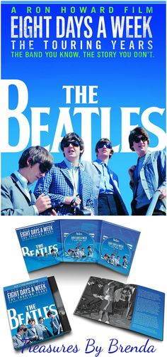 NEW RELEASE: The Beatles: Eight Days A Week The Touring Years #TheBeatles