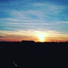 Sunsets like these are why you gotta love Frederiksberg#mom#home#apartment#city#frederiksberg