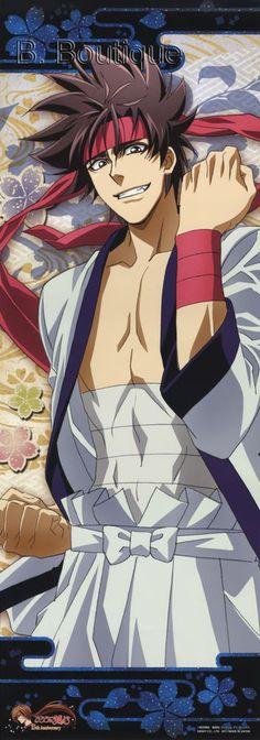 Rurouni Kenshin SANOSUKE long poster portrait Ruroni Samurai X