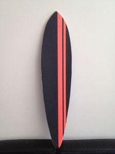 Ballz Boards Longboard, met custom gripjob