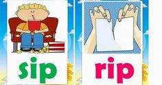 CVC words are three letter words that follow a consonant / vowel / consonant pattern. CVC words are considered the simplest words ... Three Letter Words, Cvc Words, Word F, Flashcard, Visual Aids, Alphabet Activities, Picture Cards, Simple Words, Kindergarten Teachers