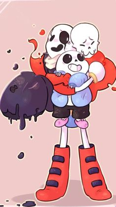 According with , Gaster looks adorable smaller than Papyrus, i agree. I promised her i will to draw some of her headcanons and here is it, W. Gaster is taller than Papyrus based on the sprites but i love her idea too. Undertale Gaster, Undertale Memes, Undertale Drawings, Undertale Cute, Undertale Fanart, Gaster Sans, Papyrus Y Sans, Creepypasta Anime, Transformers
