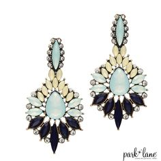 LOTUS BLOSSOM EARRINGS -2015 Fall Collection- www.parklanejewelry.com