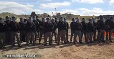 Despite international calls to allow the protesters to peacefully resist DAPL's construction, abuses by the police at the pipeline are rife.