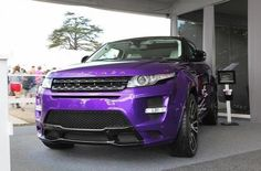 I want a range rover but purple was never in mind .. But now this purple is looking nice